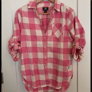 Roots 100% Cotton Flannel Shirt